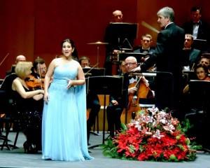 Tania Bou con la Orquesta Filarmónica de Lemberg en el Concierto de Año Nuevo
