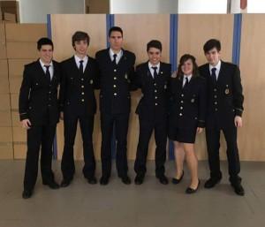 D'esquerra a dreta: Gabriel Micó, Ferran Fernández, Jordi Monllor, Mauro Fernández, Lara sanoguera i Fran Blasco