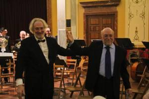 Gregorio Casasempere y José María Valls (Foto: Información)