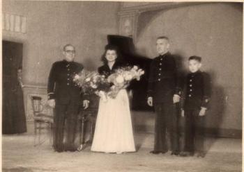Fernando de Mora, Consuelo Colomer, Paco Laporta y Amando Blanquer