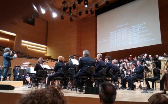 Moment del concert el passat 6 de març (Foto: Pepi Pascual)