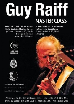 Master class Guy Raiff