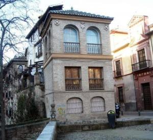 Panorámica de La Casa de las Chirimías en Granada