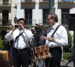 Hiroshi Fujii i Lluís Torró
