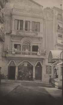 Façana del teatre Principal. Font: Fototeca Municipal d'Alcoi