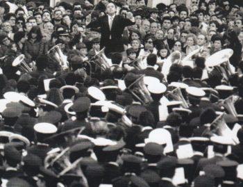 Amando Blanquer va dirigir l'Himne en dues ocasions: en 1966 i 1982 (Foto: Paco Grau)