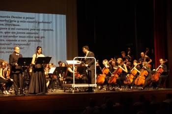 Javier Pérez i Gemma Soler en un moment del concert