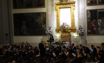 L'Orquestra Simfònica Alcoiana i Tania Bou