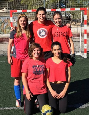 El 'dream team' de La Vella: Ana Valor, Macarena Lozano, Mar Fernández, Lara Sanoguera i Janira Paredes