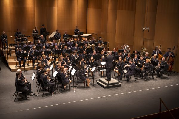 Vicente Sanoguera va dirigir el concert de Santa Cecília