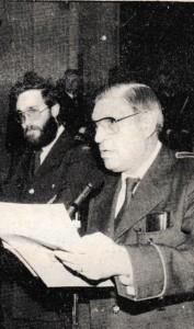 Gregorio Casasempere i Ernesto Valor en el moment de la presentació