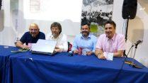 Rafa Monllor (Audioart), Àngel Lluís Ferrando, Raül Llopis i Pedro Rubio Olivares (Foto: P. Martínez)