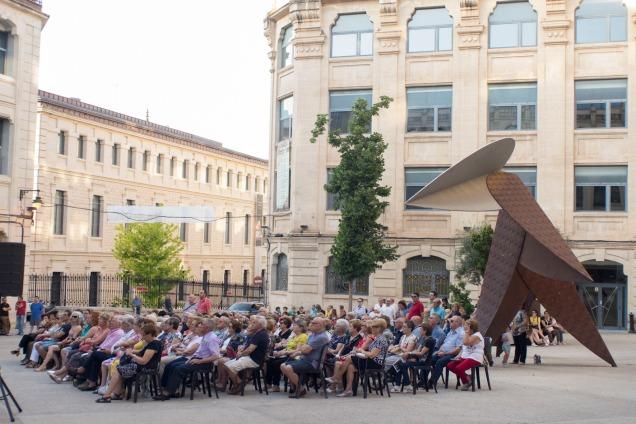 El públic assistent al concert (Foto cedida per El Nostre)