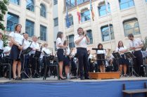 Salutacions finals del concert (Foto: Isabel Martínez)