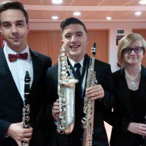 Luis Balaguer, Isaac Sanoguera i Andrea Blasco (Foto: P. Martínez)