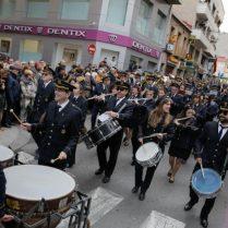 Moment del desfile a Elda (Foto: Diario Información)