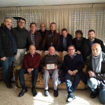 D'esquerra a dreta: José Ramón Company, Vicente Pastor, Paco Giménez, Manolo Verdú, Roberto Ortiz, Sergio Molina, Àngel Lluís Ferrando i Sergio Ortega. Davant: Rafael Serra, Enrique Abad, Eduard Terol i Pablo Martínez
