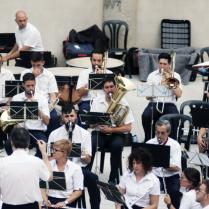 Jordi Monllor al bombardí va vore estrenat el seu opus 28