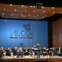 Moment del concert dirigit per Jordi Monllor (Foto: Ajuntament Alcoi)
